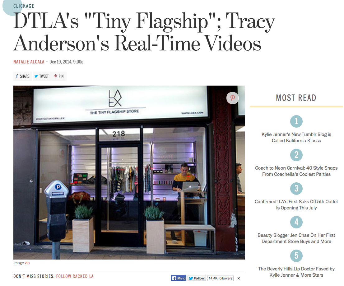 Racked La Racked La Tracy Andersons Real Time Videos Tracy Anderson