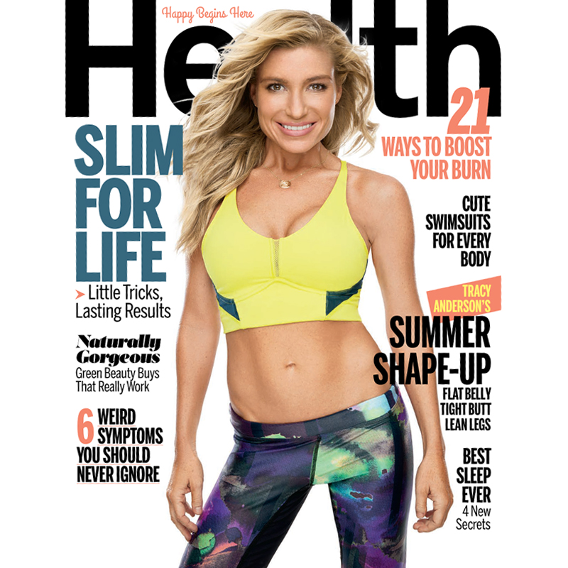 Tracy Anderson on the cover of HEALTH magazine! - Tracy Anderson ...