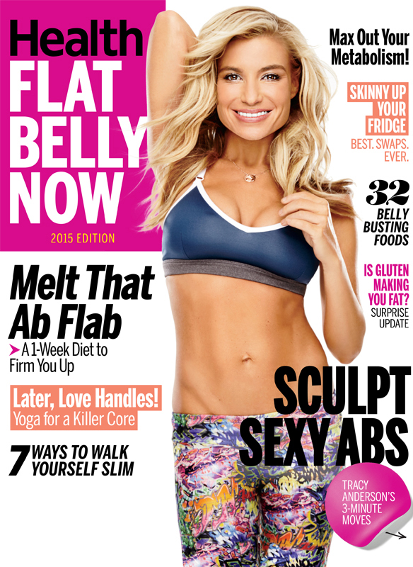 Tracy Anderson on the Summer cover of Health magazine! | Tracy ...