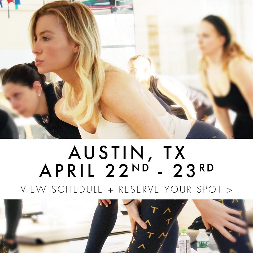 TA Tracy Anderson ViTAlity Weeks 2017- Shop Thumbs -Austin