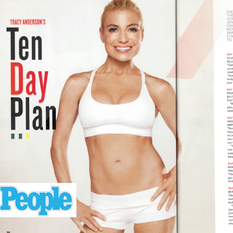 Ta Tracy Anderson People Magazine Half their size