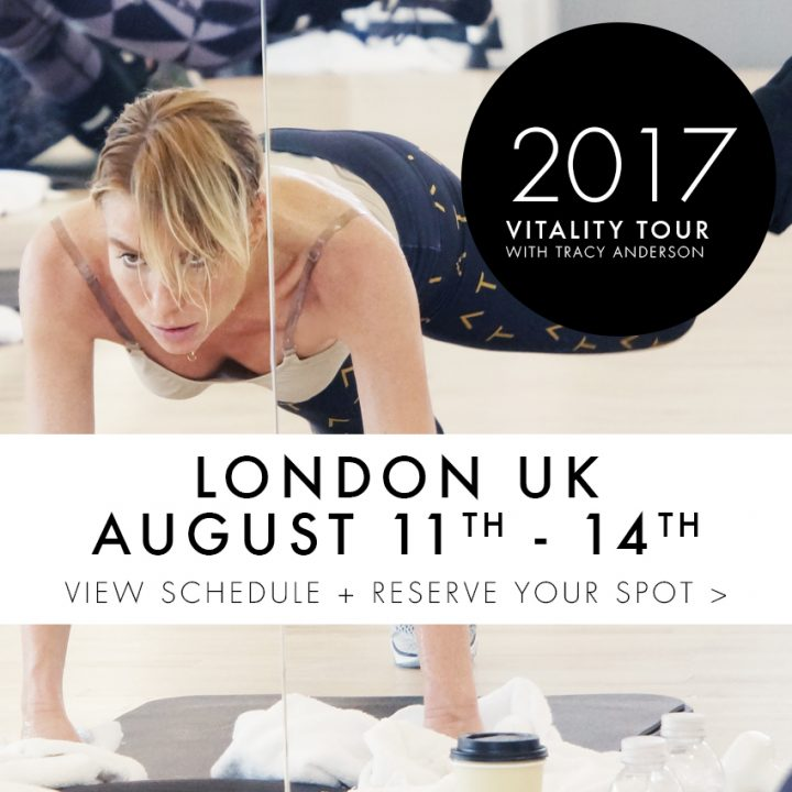 TA Tracy Anderson ViTAlity Weeks 2017- Shop Thumbs LONDON