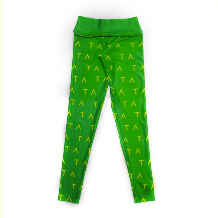 TA Tracy Anderson Green Yellow Leggings