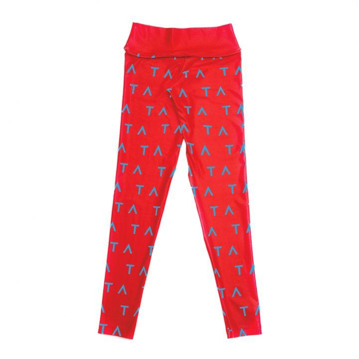 Ta Leg4gings redblue