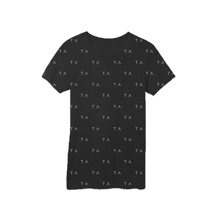 Tracy Anderson Branded Tees Black