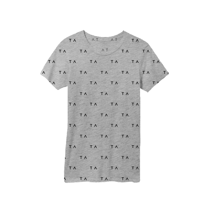 Tracy Anderson Branded Tees Gray