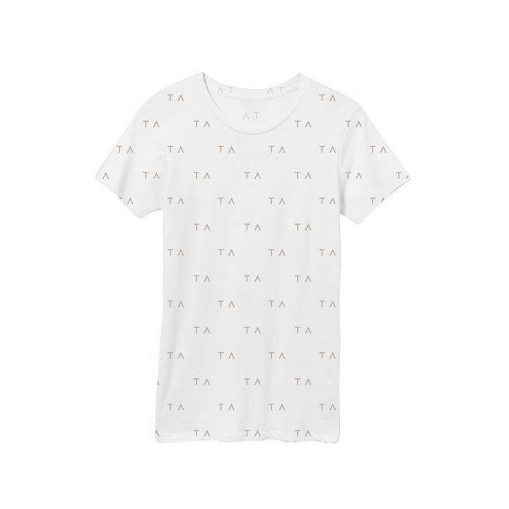 Tracy Anderson Branded Tees White