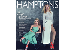 Tracy Anderson on the cover of Hamptons magazine!