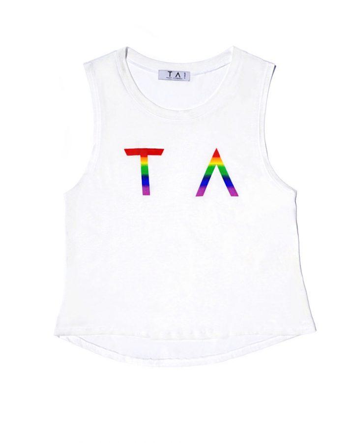 TA Pride Cropped Shirt